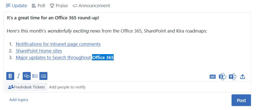 Office 365 round-up – June 2019 | CompanyNet