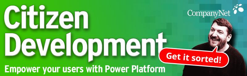 Citizen Development with Microsoft Power Platform