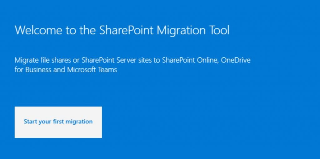 SharePoint Migration Tool