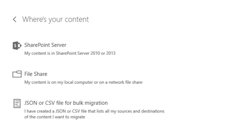 SharePoint Migration Tool in action